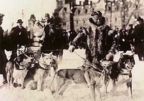 Leonard Seppala con i suoi cani