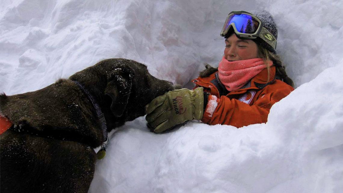 I meccanismi premianti, che massimizzano l'aspetto del gioco e della ricompensa, sono efficacissimi per l'addestramento dei cani da soccorso.